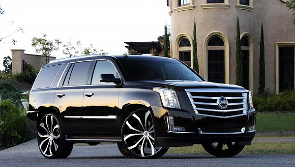 Limo - Taxi outside view Cadillac Escalade SUV